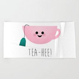 Tea-Hee Beach Towel