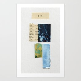 Scraps Of Art Art Print