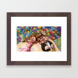 You and me... We're in a Club Now! Framed Art Print