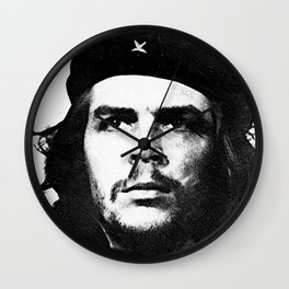 "Portrait of Ernesto ""Che"" Guevara Wall Clock"