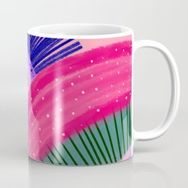 Curves Pink Coffee Mug