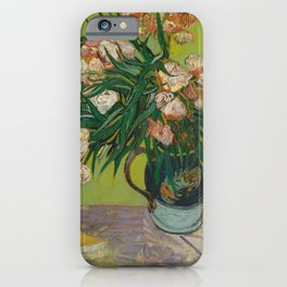 Vincent van Gogh - Oleanders iPhone Case
