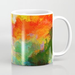 Abstract Painting - Landscape Coffee Mug