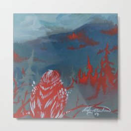 A view from Goldstream Metal Print