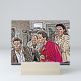 Yada Yada Yada Jerry Jerry Jerry Mini Art Print