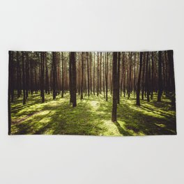 FOREST - Landscape and Nature Photography Beach Towel