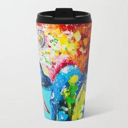 Macaw parrot Travel Mug