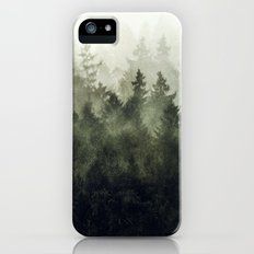 The Heart Of My Heart // Green Mountain Edit iPhone SE Slim Case
