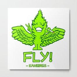 Fly! - Kanebes - Metal Print