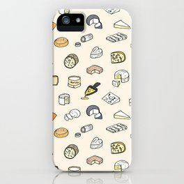 Cheese pattern iPhone Case