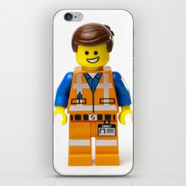 Emmet Minifig iPhone Skin