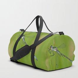 Blue dragonfly Duffle Bag