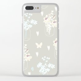 Spring collection Clear iPhone Case