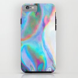 Iridescence 2 - Rainbow Abstract iPhone Case