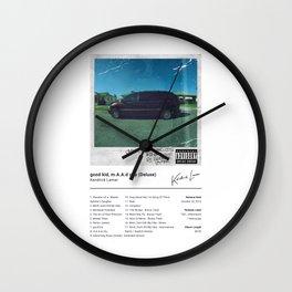 Kendrick Lamar - good kid, m.A.A.d city (Deluxe) - Album Art Wall Clock