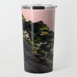 Green Stones and Skyline Travel Mug