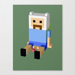 Weird Guy Canvas Print