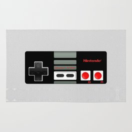 Classic retro Nintendo game controller iPhone 4 4s 5 5c, ipod, ipad, tshirt, mugs and pillow case Rug