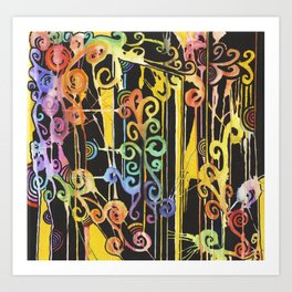 Rain-Bow Art Print