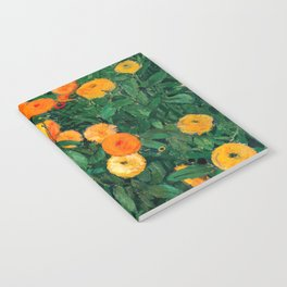 Marigolds by Koloman Moser, 1909 Notebook