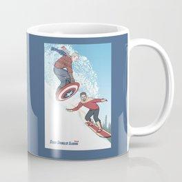 Stark Spangled Sledding (Recipe for a Concussion) Coffee Mug