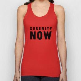 Serenity Now! Unisex Tank Top