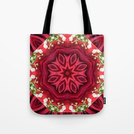 Rose Mandala - The Mandala Collection Tote Bag