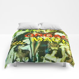 """Kiss Land"" by Cap Blackard Comforters"