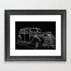 Standard Eight Framed Art Print