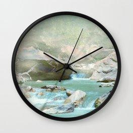 Emerald River Wall Clock