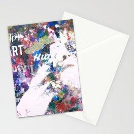 Splash of Words Stationery Cards
