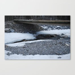 Spring Thaw 1 Canvas Print