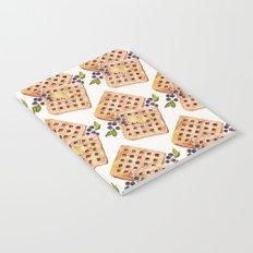Blueberry Breakfast Waffles Notebook