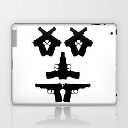 Pistol Face Laptop & iPad Skin