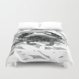 Colorful Art Crab Abstract 3 Duvet Cover