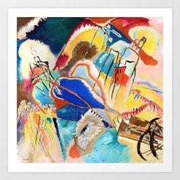 12,000pixel-500dpi - Wassily Kandinsky - Improvisation No. 30, Cannons - Digital Remastered Edition Art Print