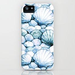 Sea Shells Teal iPhone Case