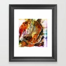 Texture abstract 2016 011 Framed Art Print