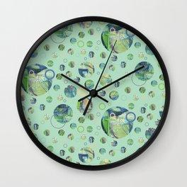 Polka Gravure Wall Clock
