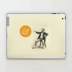 A Stern Ampersand Laptop & iPad Skin