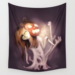 Dreaming of Halloween Wall Tapestry
