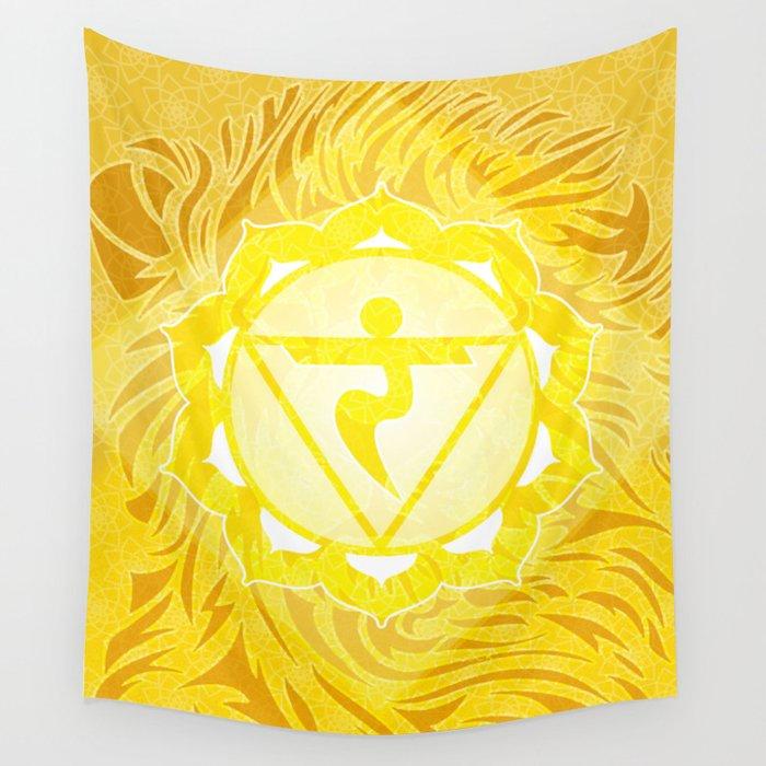 Shine—Solar Plexus Chakra Wall Tapestry