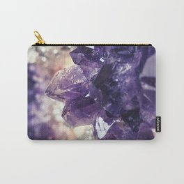 Crystal gemstone - ultra violet Carry-All Pouch
