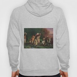 African American Masterpiece 'Emancipation or On to Liberty' by Theodor Kaufmann Hoody