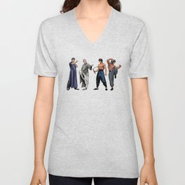 Kung Fu Legends Unisex V-Neck