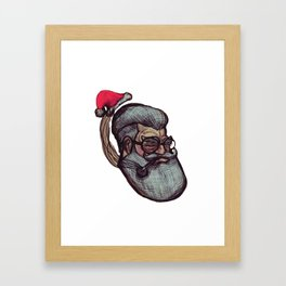 Saint Nick Framed Art Print