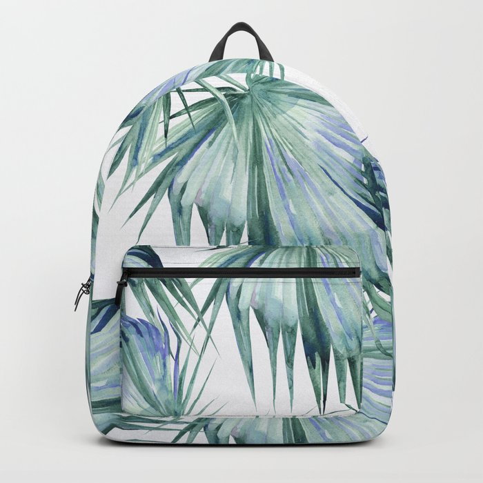 Floating Palm Leaves 2 Backpack