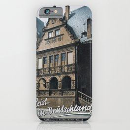 retro Reist in Deutschland iPhone Case