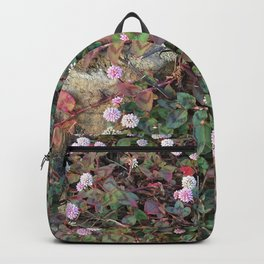 Tiny pink flowers Backpack