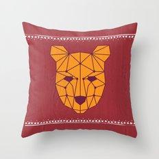 Totem Festival 2015 Throw Pillow